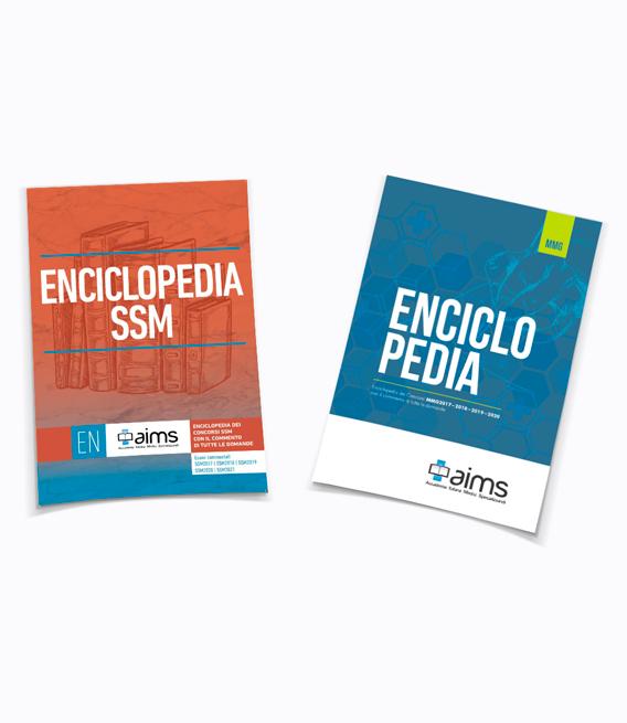 Enciclopedia dei Concorsi SSM2017, SSM2018, SSM2019, SSM2020 e SSM2021 + Enciclopedia dei Concorsi MMG con il commento di tutte le domande